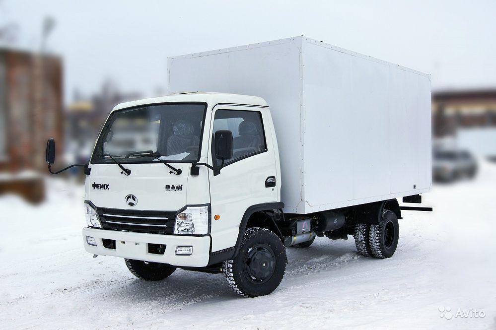 BAW Fenix Промтоварный фургон