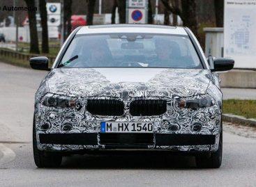 Началось тестирование прототипа BMW 5 Series