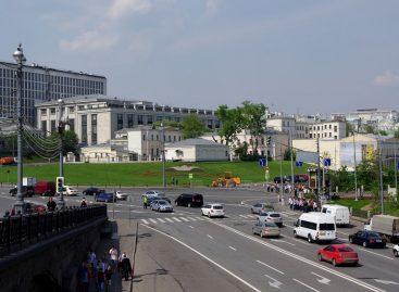 В центре Москвы возникнет очередная большая пешеходная зона