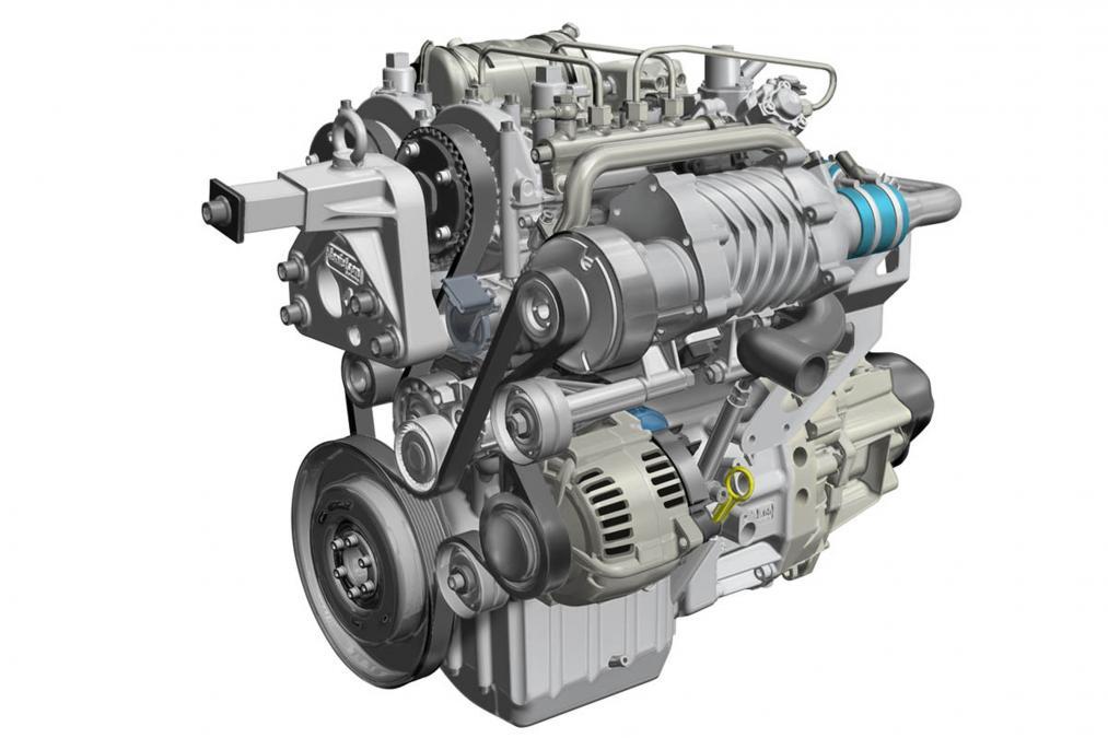 Двухцилиндровый двухтактный двигатель