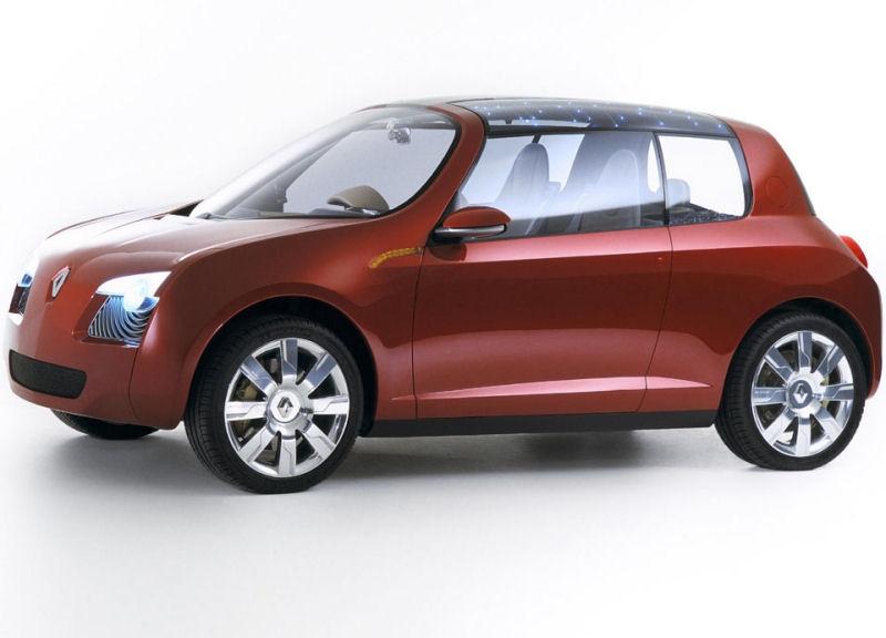Концепт Renault Zoe 2005