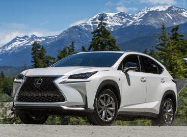Lexus NX – лидер премиального сегмента на рынке Москвы