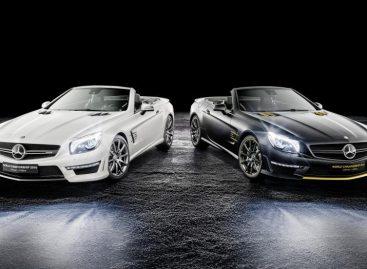 Выпуском двух коллекционных SL63 AMG Mercedes отметил победу Хэмилтона в Formula-1