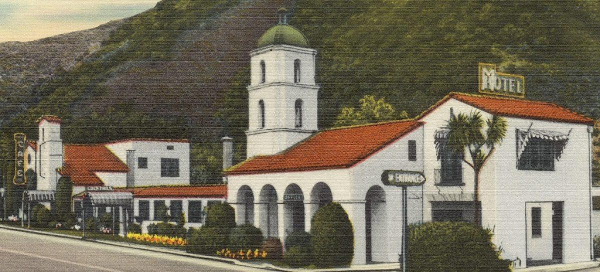 Первый мотель появился в 1925 году