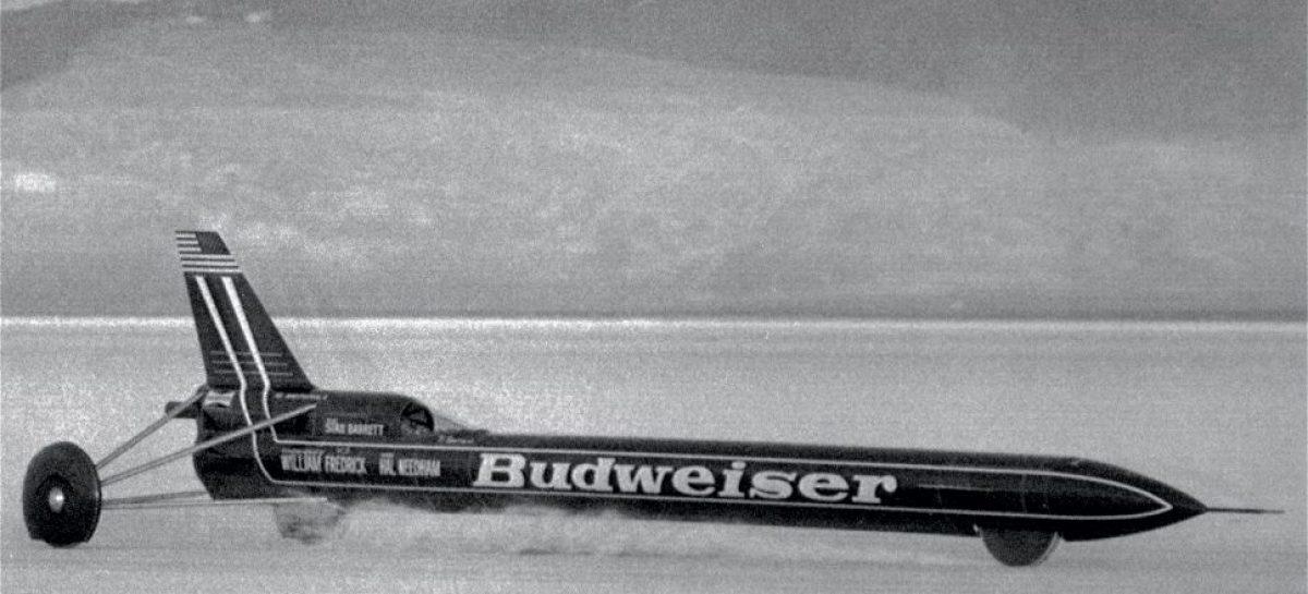 Звуковой барьер впервые преодолел гонщик Стен Баррет в 1979 году
