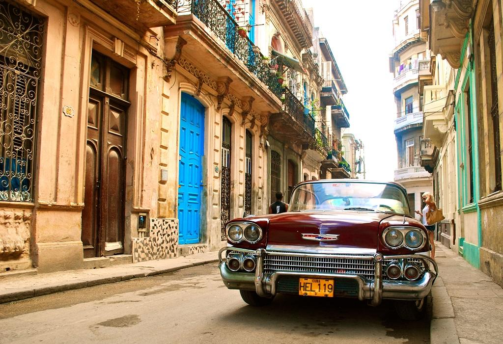 Ретроавтомобили на Кубе