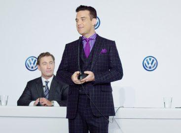 Новым маркетологом Volkswagen будет Робби Уильямс