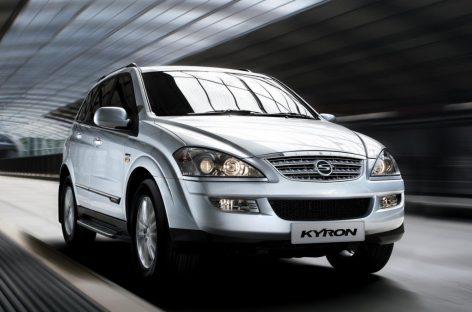 Покупка SsangYong Kyron и Rexton сегодня не противопоказана
