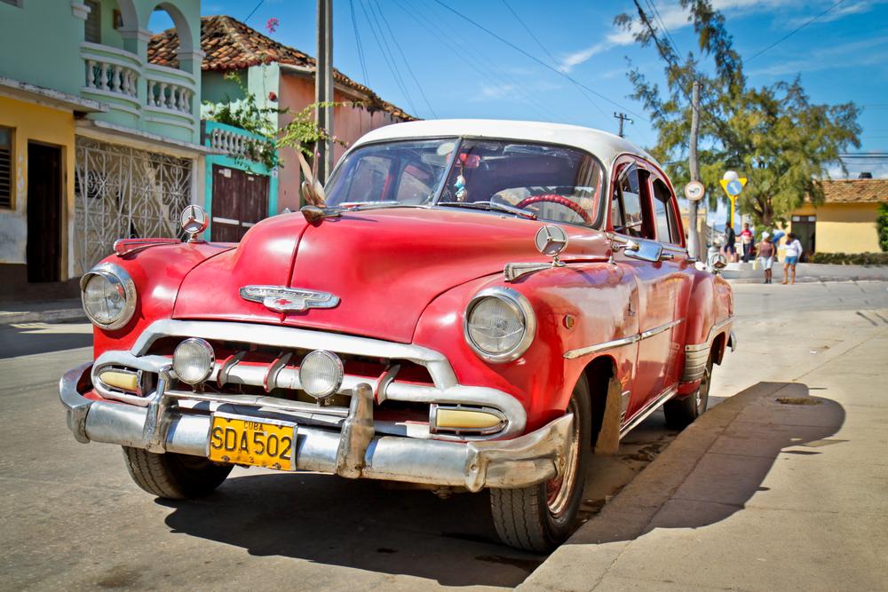 Старинные автомобили на Кубе