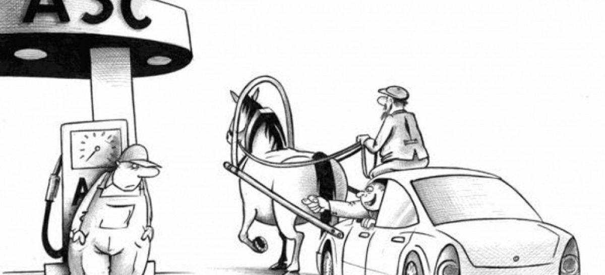 Нефть дешевеет — бензин дорожает