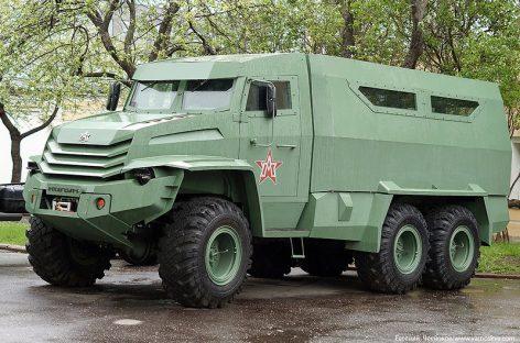 Ё-мобили для армии