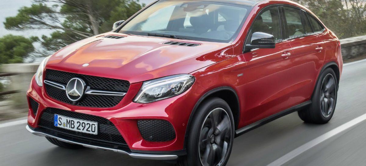 Mercedes-Benz представил конкурента BMW X6