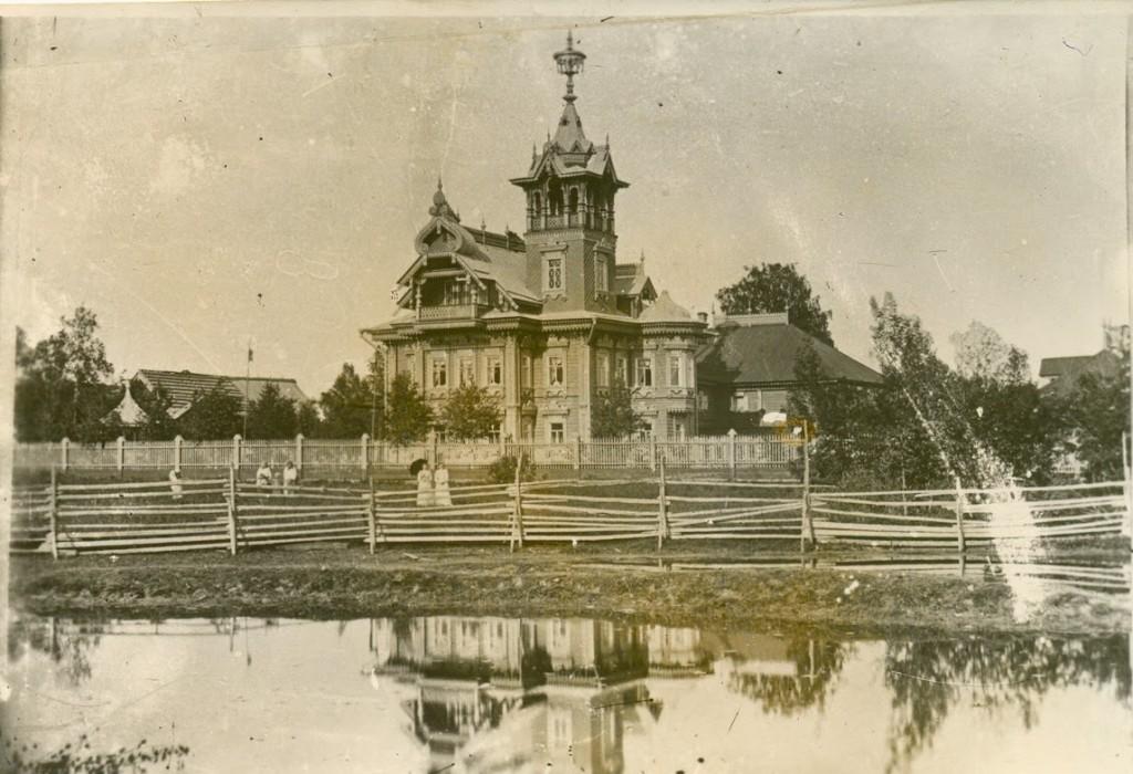 Терем в Асташово - начало XX века.