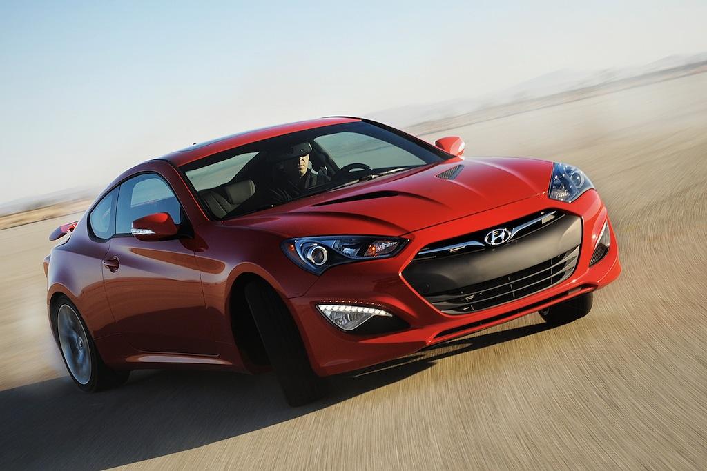 Hyundai Genesis Coupe Red