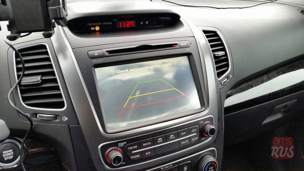 Власти США запретили автомобили без камер заднего вида