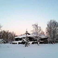 обживаемая заново деревня Асташово