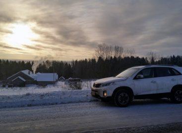 Очень зимний тест-драйв дизельного KIA Sorento FL 2014