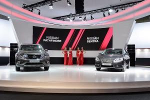 Дебют новых Nissan Pathfinder и Sentra