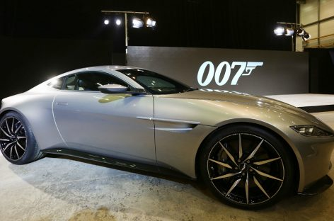 Aston Martin DB10 – новая машина Бонда