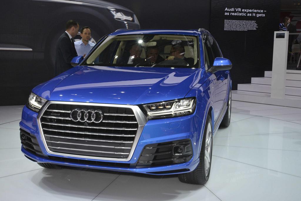Audi Q7 Детройт 2015