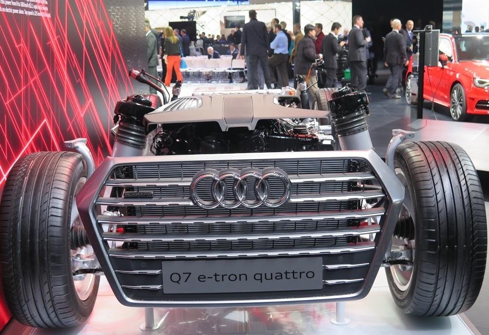 Audi Q7 e-tron NAIAS 2015