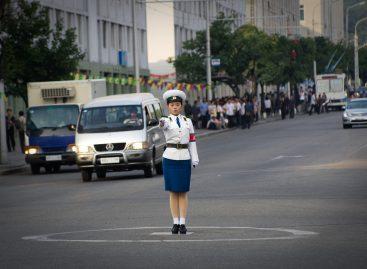 В Северной Корее все ездят на газу