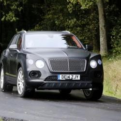 Bentley Bentayga - тестирование