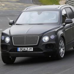 Bentley Bentayga в Нюрбургринге