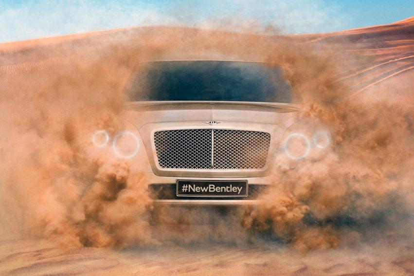 Bentley Bentayga. Тест на внедорожные свойства в Дубае