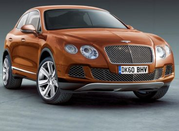Bentley Bentayga — дитя тайги