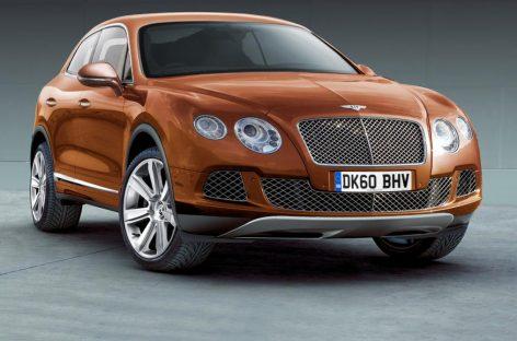 Bentley Bentayga – дитя тайги