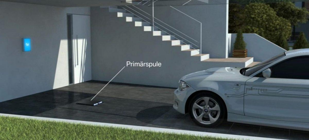 Как зарядить BMW без кабеля