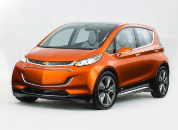 Электрическая новинка: Chevrolet Bolt