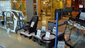 Уже локализованы сидения, стальные детали кузова, стекла, аккумулятор, уплотнители радиатор...