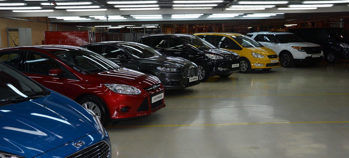 Российский рынок новых автомобилей в 2014 году упал на 10.3%