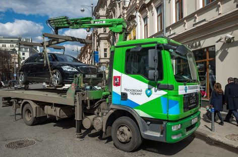 В Москве эвакуаторщики сдают  план не только по штрафам, но и по мощности