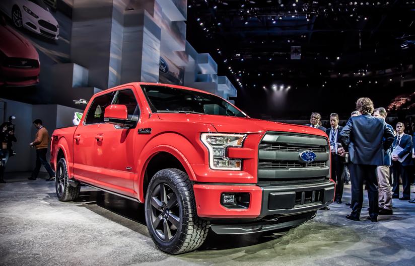 Ford F150 Детройт 2015
