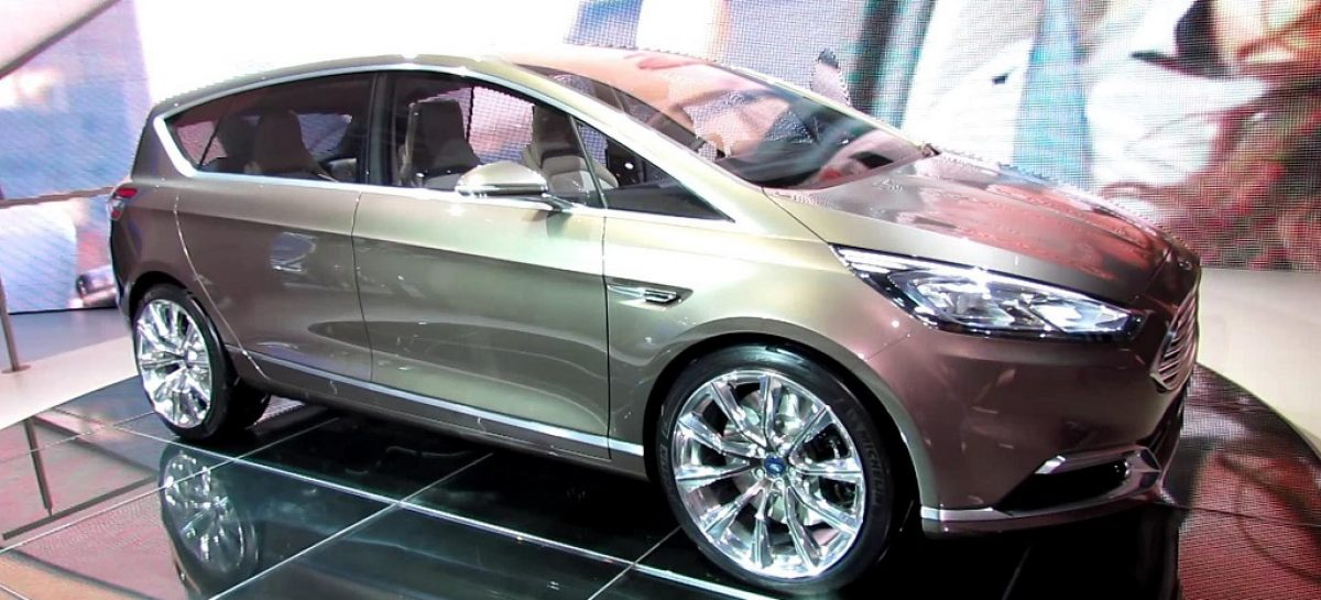 новый ford smax продажи в европе
