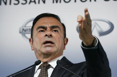 Гон покинул пост главы Renault