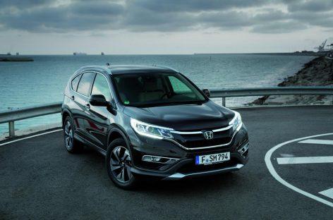 Новые подробности о европейской версии Honda CR-V