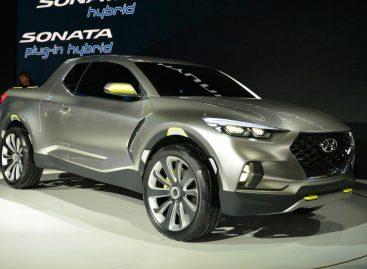 Hyundai представил большой пикап Hyundai Santa Cruz