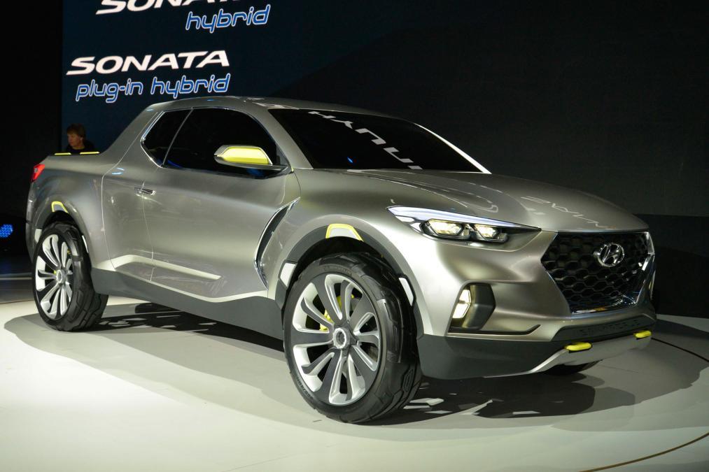 Hyundai Santa Cruz NAIAS 2015