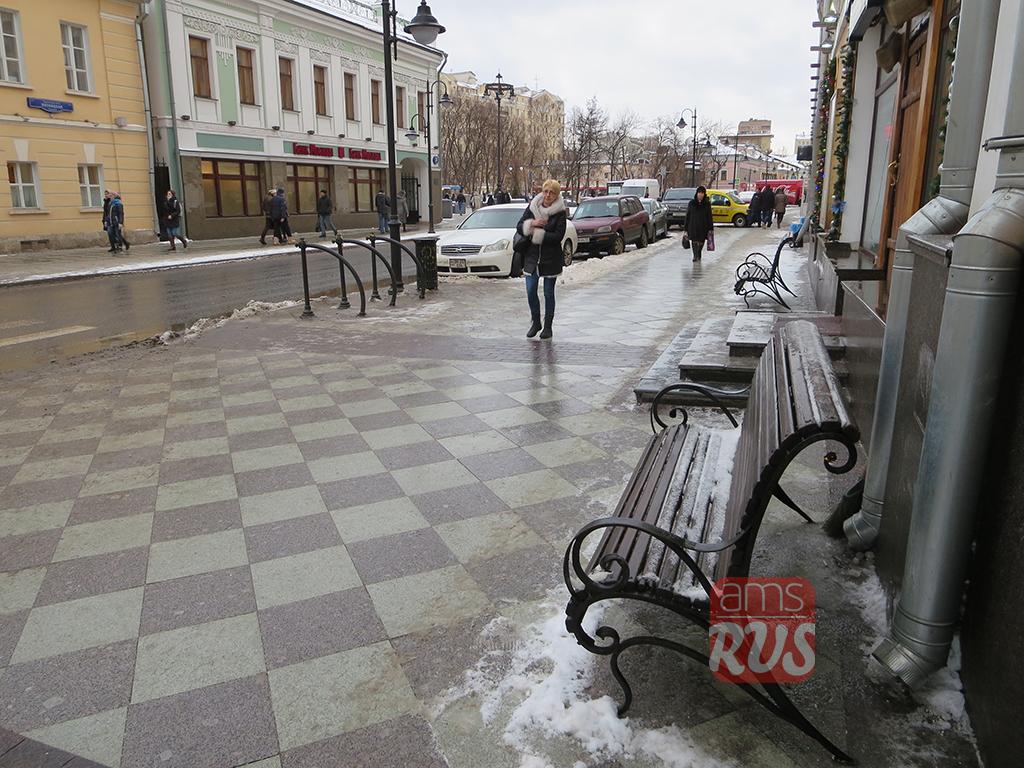 Пятницкая улица после реконструкции