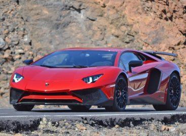 Фотошпионы подловили новый Lamborghini SV