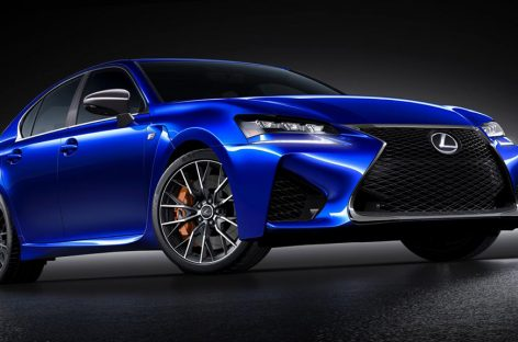 Lexus GS F 2016 отзывчив и изысканнен