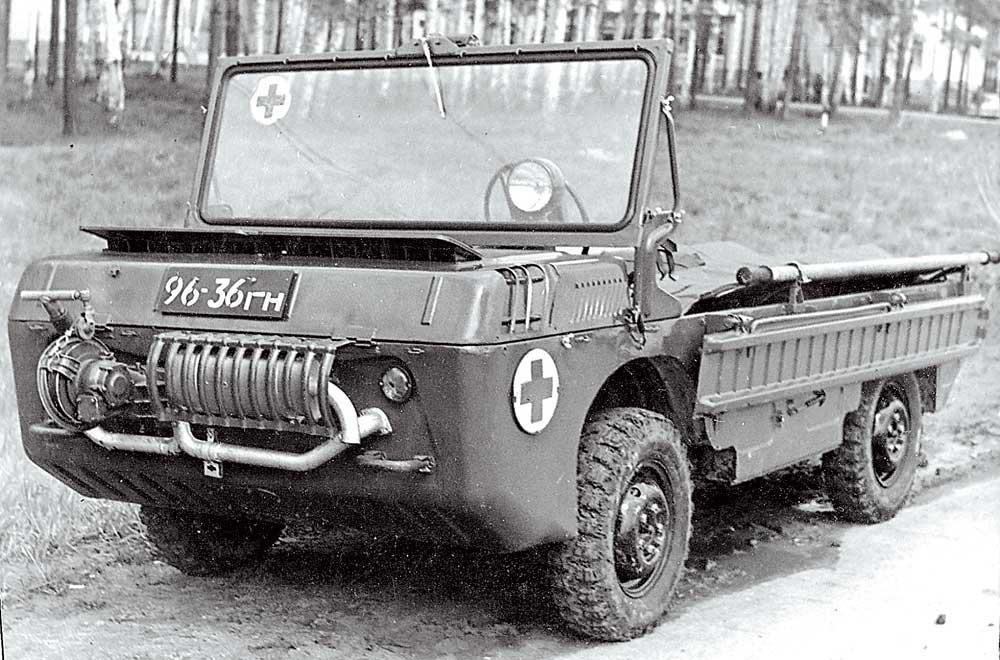 ЛуАЗ-967 Транспортер переднего края