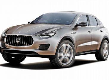 Ждем кроссовер Maserati Levante на платформе Quattroporte и Ghibli