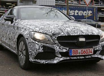 Автомобильные паппараци прознали о новом Mercedes C-Class Coupe