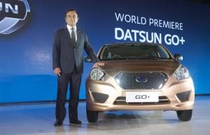 Мировая премьера Datsun Go