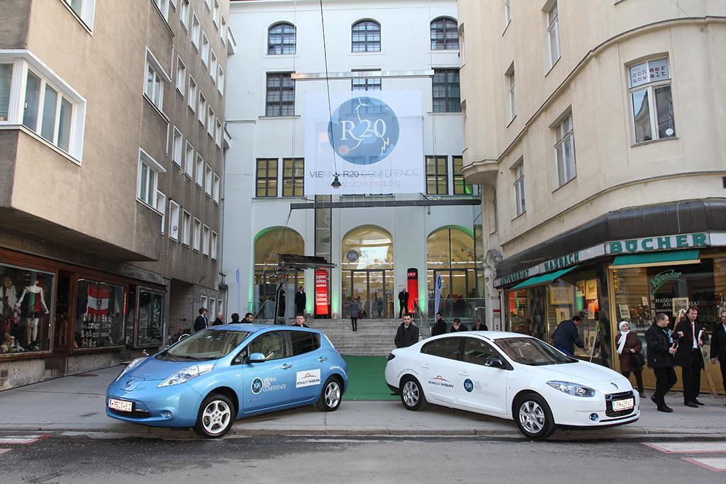 Nissan LEAF and Renault Fluence ZE
